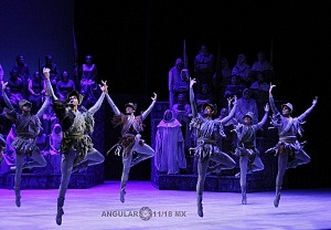 presentación de Carmina Burana, de Nellie Happee homenaje a toda una vida en la danza ensayo general Palacio de Bellas Artes 2019