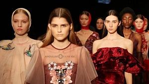 quinto día de la edición XXIII del Mercedes-Benz FashionWeek, sede Frontón México desfile de modelos 1