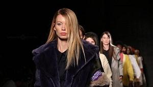 quinto día de la edición XXIII del Mercedes-Benz FashionWeek, sede Frontón México pasarela 1