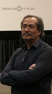 Actor Erando González en la cineteca nacional 1