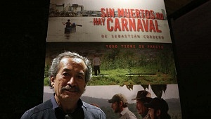 Actor Erando González en la cineteca nacional
