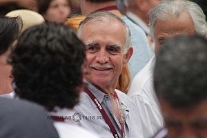 Alfonso Romo en el cierre de campaña de Andrés Manuel López Obrador candidato a la presidencia de México