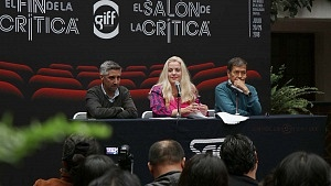 GIFF buscará conectar a los cinéfilos con la crítica especializada conferencia de prensa en la ciudad de Mèxico 1
