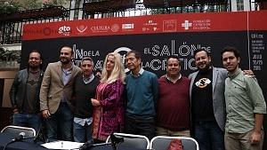GIFF buscará conectar a los cinéfilos con la crítica especializada conferencia de prensa en la ciudad de Mèxico presentaciòn de participantes 1