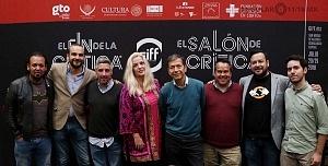 GIFF buscará conectar a los cinéfilos con la crítica especializada conferencia de prensa en la ciudad de Mèxico presentaciòn de participantes