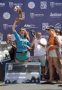 Ganadora Bianca Valenti🇺🇸 de Estados Unidos el Puerto Escondido Cup 2018