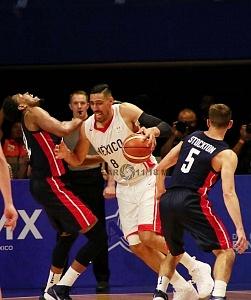 México derrota a Estados Unidos 78-70 rumbo a la Copa Mundial FIBA China 2019 gimnasio Olimpico Juan de la Barrera 2