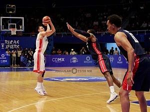 México derrota a Estados Unidos 78-70 rumbo a la Copa Mundial FIBA China 2019 gimnasio Olimpico Juan de la Barrera