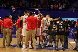 México derrota a Estados Unidos 78-70 rumbo a la Copa Mundial FIBA China 2019 gimnasio Olimpico Juan de la Barrera equipo mexicano
