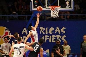 México derrota a Estados Unidos 78-70 rumbo a la Copa Mundial FIBA China 2019 gimnasio Olimpico Juan de la Barrera ofensiva mexicana 1