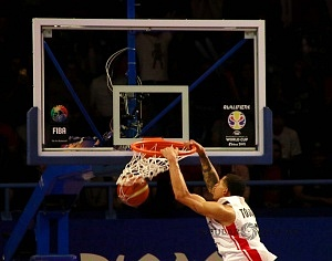México derrota a Estados Unidos 78-70 rumbo a la Copa Mundial FIBA China 2019 gimnasio Olimpico Juan de la Barrera ofensiva mexicana 2