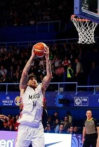 México derrota a Estados Unidos 78-70 rumbo a la Copa Mundial FIBA China 2019 gimnasio Olimpico Juan de la Barrera ofensiva mexicana