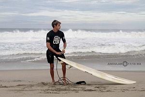 Puerto Escondido Cup 2018 Campeonato Internacional de Olas Gigantes en Puerto Escondido competidor previo a la competencia