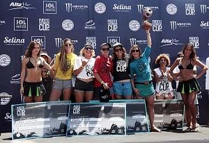 Puerto Escondido Cup 2018 Campeonato Internacional de Surf en Olas Gigantes ganadoras categoria femenil