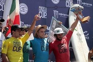 Puerto Escondido Cup 2018 ganadores del Campeonato Internacional de Olas Gigantes en Puerto Escondido