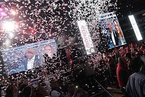 cierre de campaña de Andrés Manuel López Obrador candidato a la presidencia de México