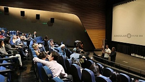 conferencia de prensa en torno al film de Sin muertos no hay carnaval 1