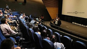 conferencia de prensa en torno al film de Sin muertos no hay carnaval 3