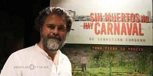 director ecuatoriano Sebastián Cordero en la cineteca nacional