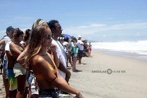Espectadores  Puerto Escondido Cup 2018