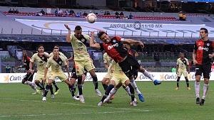 AMÉRICA venció 3-1 al ATLAS en la jornada 2 del torneo apertura 2018 Estadio Azteca