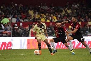 AMÉRICA venció 3-1 al ATLAS en la jornada 2 del torneo apertura 2018 en el estadio Azteca 2