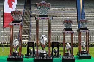 Campeonato Mundial de Football Americano U19 trofeos