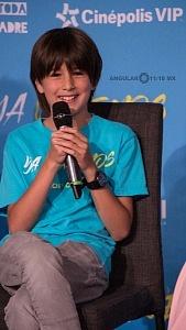 Emiliano Aramayo actor que interpreta a Santi en la pelicula YA VEREMOS