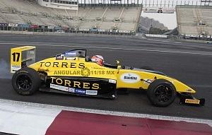 FIA FORMULA 4 NACAM GRAN PREMIO CDMX, GRAN FINAL AUTO NUMERO 17