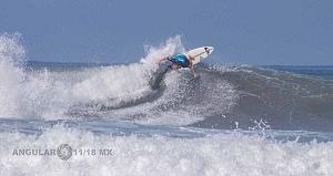 Hurley Surf Open Acapulco 2018 participante licra azul QS 1,000
