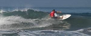 Hurley Surf Open Acapulco 2018 participante licra roja