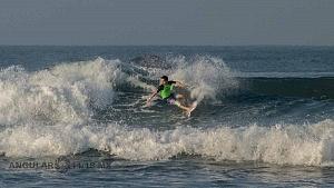 Hurley Surf Open Acapulco 2018 participante licra verde QS 1,000