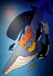 INBURSA estrena acuario interactivo cartel