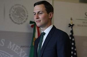 Jared Kushner asesor y yerno de Donald Trump en visita de estado a la ciudad de México en la SRE