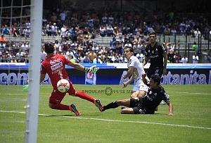 Jugada de gol del canterano Alan Mozo frente al Necaxa