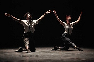 Les Ballets Jazz de Montréal arte dancístico en el Teatro de la Ciudad ensayo general previo a la presentaciòn 1