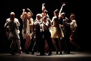 Les Ballets Jazz de Montréal arte dancístico en el Teatro de la Ciudad ensayo general previo a la presentaciòn