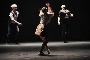 Les Ballets Jazz de Montréal ensayo general previo a la presntación en el teatro Esperanza Irís de la ciudad de Mèxico 1