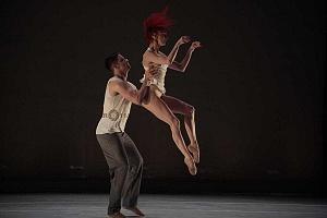 Les Ballets Jazz de Montréal ensayo general previo a la presntación en el teatro Esperanza Irís de la ciudad de Mèxico 11