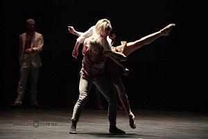 Les Ballets Jazz de Montréal ensayo general previo a la presntación en el teatro Esperanza Irís de la ciudad de Mèxico 12