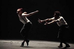 Les Ballets Jazz de Montréal ensayo general previo a la presntación en el teatro Esperanza Irís de la ciudad de Mèxico 2
