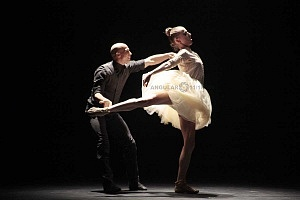 Les Ballets Jazz de Montréal ensayo general previo a la presntación en el teatro Esperanza Irís de la ciudad de Mèxico 3