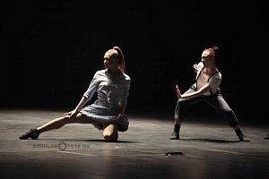 Les Ballets Jazz de Montréal ensayo general previo a la presntación en el teatro Esperanza Irís de la ciudad de Mèxico