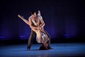 Les Ballets Jazz de Montréal ensayo general previo a la presntación en el teatro Esperanza Irís de la ciudad de Mèxico 7