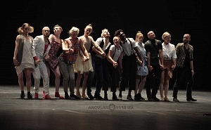 Les Ballets Jazz de Montréal ensayo general previo a la presntación en el teatro Esperanza Irís de la ciudad de Mèxico 8