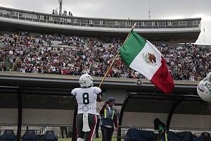 México derrota a Estados Unidos en el mundial de Futbol americano U-19 por 33-6 en el estadio OlÍmpico Universitario en CU 2