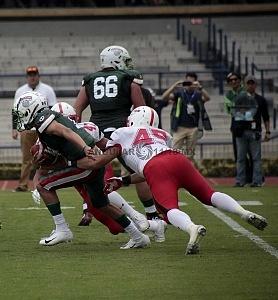 México derrota a Japón en la Mundial de Futbol Americano U-19 2018 por un marcador de 31-14 estadio Olimpico Universitario CU 1