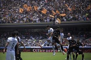 Pumas derrota al Necaxa en la jornda 2 del torneo apertura 2018 por 5 goles a 3 estadio olímpico universitario (1)