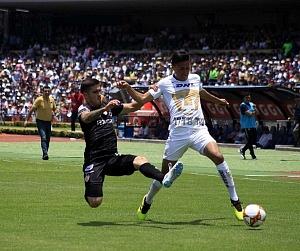 Pumas derrota al Necaxa en la jornda 2 del torneo apertura 2018 por 5 goles a 3 estadio olímpico universitario (2)