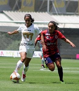 Pumas derrota al Veracruz en la liga MX Femenil 2-0 en la jornada 3 2018 (1)